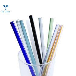 3.3 resistentes al calor de tubo de vidrio Pyrex color borosilicato