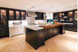 Novo projeto de armários de cozinha em madeira maciça com cestas de Puxar Elétrico