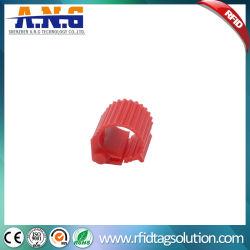 134.2kHz RFID ピジョンフィートレーシングリング動物管理用タグ