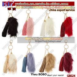 Yiwu China Schlüsselhalter Kaufender Agent Kaninchen Pelz Schlüsselanhänger Promotion Geschenke für Schlüsselanhänger (G8024)