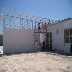 Isolamento da parede exterior do interior da placa de MGO para Caixa de aço de Luz