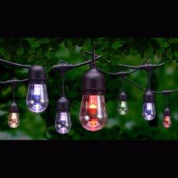 Outdoor String Lichter für Cafe Hochzeitsfeier Girlande Lichter