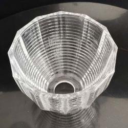 Verre en cristal de la grille abat-jour acceptable pour l'éclairage conception personnalisée