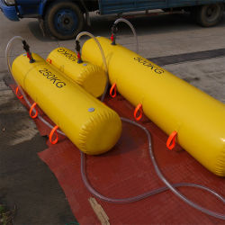CCS BV PVC Proof Load Test Waterbag for lifeboat and 현문 부하 테스트