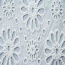 Voile de algodón tejida tejido bordado de prendas de vestir vestir 60*60 90*88