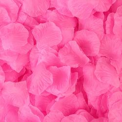 Amazon Hot Selling Silk Rose Red Petal Wedding Valentine Day Decoraties Silk Artificial Rose bloemblaadjes Valentijnsdag cadeaus