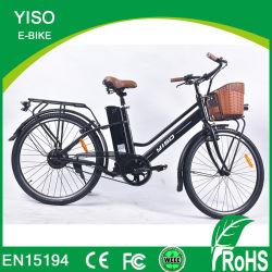 電気自転車36V 250W Folloのセリウムのブラシレス鉄骨フレーム都市EのバイクのCiyのバイク