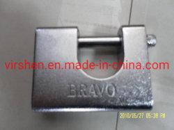 قفل مستطيل مستطيل الشكل لمفاتيح ذات أقفال مصلدة من الفولاذ الصلب
