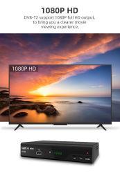 H. 265 Hevc 코덱을%s 가진 DVB-T2의 수신을%s 놓 상단 상자는 USB와 실행 음악, 사진 및 영상에 텔레비전 방송의 기록을 전한다