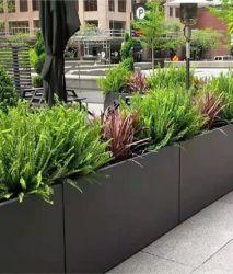 Quadratischer Aluminiumtopter/Gartentopf/Parktopter
