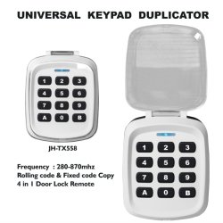 Serrure de porte de l'accès du clavier de commande à distance sans fil