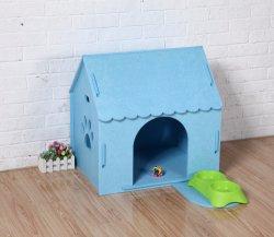 Aves de papel corrugado Casa Pet DIY Juguete Educativo Puzzle con pintura