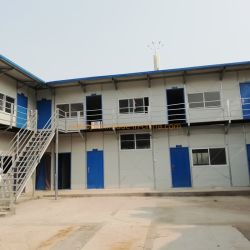 중국 K 집 Prefabricated 집에서 타이란드 여름 2 층 가져오기에 있는 강철 프레임