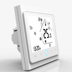220 В переменного тока 12V WiFi термостат Tuya Smartlife двух/четыре комнаты вентиляторного доводчика трубопровода клапан беспроводной контроллер системы кондиционирования воздуха