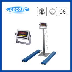 Scala di pesatura elettronica della barra del fascio portatile dell'acciaio inossidabile della visualizzazione 1ton 2ton 3ton di Lp7630 Ntep