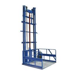 Qiyun 4m à 8m Guide produits du fret ferroviaire de fret peuvent être personnalisés de l'élévateur de relevage de la taille de la plate-forme pour Warehous