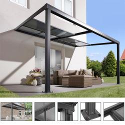 Nuevo diseño del techo retráctil toldo Terraza exterior cubierta sistema deslizante techado Patio