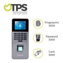 埋め込まれたRFIDの読取装置の指紋センサーのキーパッドパスワードの指紋のコントローラ