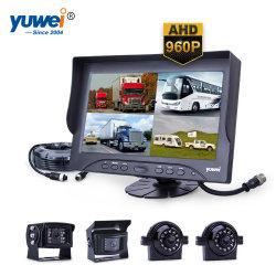 Commerce de gros HD 960p Le Moniteur du véhicule avec 4 caméras arrière