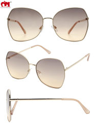 New Fashion Custom oversized Sun Glasses High Quality men Women Glazen UV 400-zonnebril met metalen polarisatie en colordlens (WSM20015)