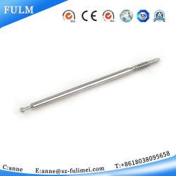 L'alluminio ha personalizzato il filetto femminile maschio Rod del rame placcato zinco dell'acciaio inossidabile completamente