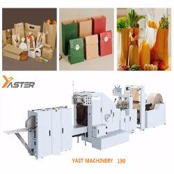 حقيبة ورق باللون البني KRAFT ورقة كاملة آلية من أسفل المربع البيئي صناعة الحقائب تشكيل خط إنتاج الآلات Yast-Fd190