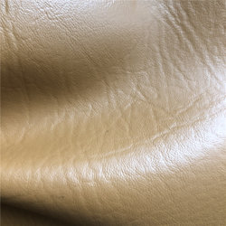La imitación de patrón de avestruz cuero de cocodrilo de PVC de tela para la fabricación de zapatos de bolsas de PVC