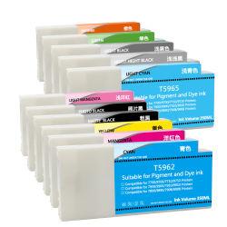 T5961-T5969 T596T596B cartucho de tinta compatible con tintas de pigmento