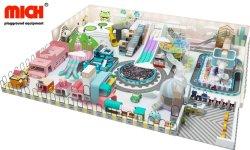 Hersteller-Preis-heißer neues Produkt-verwendeter kleines Kind-wertloses Schloss-weicher Innenspielplatz