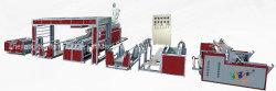 La laminación de la máquina para bolsas tejidas PP Sj-Fmz (serie)