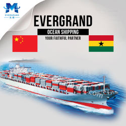 Puerta a puerta Mar Mar Mar Mar Transporte desde Guangzhou China a. Tema Ghana Shipping Services DDP
