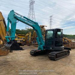 Usa Kobelco SK55 de 5 toneladas de pequeña excavadora, Kobelco SK55 Mini Digger
