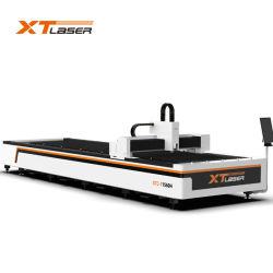 machine de découpage au laser à filtre 1000watt laser à fibre de la faucheuse pour l'aluminium en acier inoxydable