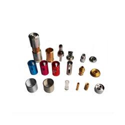 CNCのカスタム精密はブッシュ部品によって回されたシャフトのコンポーネントを回した