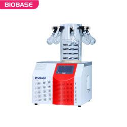 Biobaseのテーブルトップの小型小さい実験室の真空の凍結乾燥器(凍結乾燥機)の乾燥機械