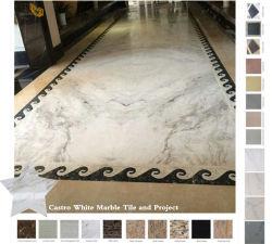 Polido Narural Branco/Preto/Cinza/em mármore e granito Quartz/Cinza/Travertinos/Sandstone/telhado/Mosaico pedra para cozinha/banheiro/parede/Flooring/material de construção