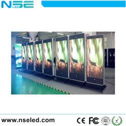 P2.5/P4 colore completo dell'interno portatile della visualizzazione del manifesto LED