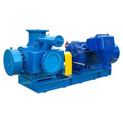 Huagngong électrique à double vis en acier inoxydable pour la pompe de transfert de produits chimiques