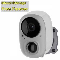 كاميرا Gحيلة لاسلكية للأمان المنزلي، قابلة لإعادة الشحن بالبطارية، صوت ثنائي الاتجاه بدقة 1080p