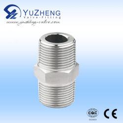 Sechskantnippel 1/2 Zoll Stecker NPT X 1/2 Zoll Stecker 316 Edelstahl Hochdruck