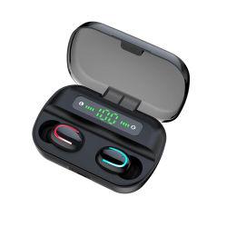 Handfree мини Bluetooth 5.0 беспроводные наушники-вкладыши со сматыванием кабеля зарядки .