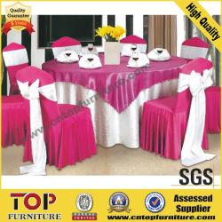 Presidente de la boda elegante tapa y tapa de la mesa