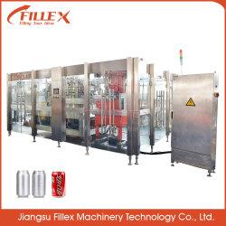 Linea di produzione di riempimento d'inscatolamento del vino/birra/bibita analcolica della spremuta della latta di alluminio