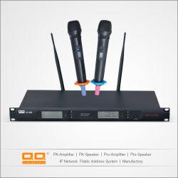 Microphone sans fil/fréquence fixe micro sans fil avec la CE