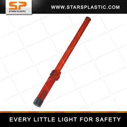 Bastone ricaricabile di traffico di colore rosso LED