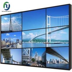 Soluciones de pared de vídeo pantalla digital de 3,5 mm de los fabricantes de la pantalla de 65 pulgadas Ultra estrecho perfecta Bisel LCD 3X3 Video Wall
