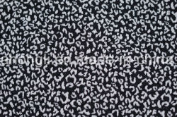 Popular Patio Knittting Jacquard tejido de tinte de ropa casual