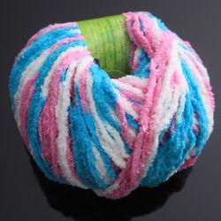 Het kleurrijke Buitensporige Garen van Chenille van de Polyester van de Sweater met Hoogstaande en Concurrerende Prijs ly-P093