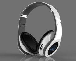 Fone de ouvido estéreo Bluetooth desportivas sem fio com Mircro /TF/FM 968