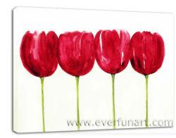 Kreativer handgemachter moderner abstrakter Acrylsegeltuch-Farbanstrich (FL1-029)